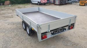 Remorcă Platformă Martz Transporter 3217-2c Dublu Ax Cu Sistem De Franâre Al-Ko 325x171 5x30 Cm 2700 kg
