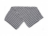 Esarfa ALDO alb-negru, Thuringia003, din material textil