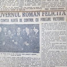 ziarul universul 13 mai 1945-romania sarbatoreste sfarsitul razboiului mondial