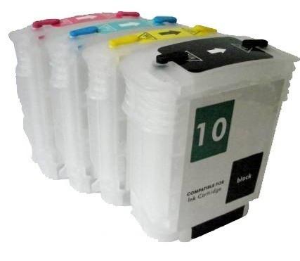 Cartuse reincarcabile pentru HP 82-10