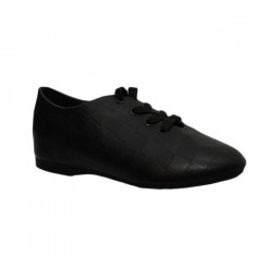 Pantof in tendinte, de culoare negru mat cu design de patratele