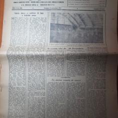 sportul popular 11 decembrie 1954-dinamo castigatoarea cupei la rugby,schi