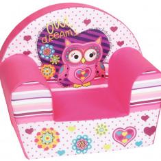 Fotoliu din burete Owl Dreams