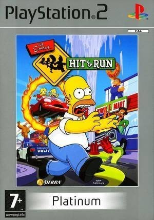 Joc PS2 The Simpsons Hit & run Platinum