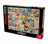 Cumpara ieftin Puzzle Anatolian Lots of Butterflies, 1000 piese