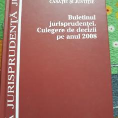 BULETINUL JURISPRUDENTEI. Culegere de Decizii pe Anul 2008, 943 p.