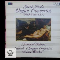 Joseph Haydn Organ concertos/ Concerte pentru orga - vinil in stare excelenta