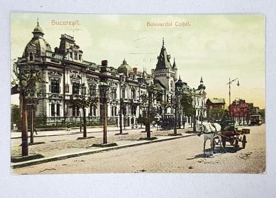 Bucuresti. Bulevardul Coltei - CP Ilustrata foto