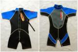 Costum scafandru neopren Nalu WaveWare; marime pentru 10 ani (28 inch)