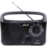 Cumpara ieftin Radio portabil Akai, Bluetooth, 21 x 5.8 x 7.2 cm, jack 3.5 mm, Negru