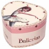 Cutie muzicala inima Ballerina, Trousselier