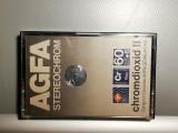 Caseta audio AGFA StereoChrom 60+6 - RFG/stare: Perfecta/Rara, Altul