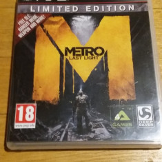 PS3 Metro Last light - joc original by WADDER