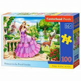 Puzzle Printesa in Gradina Regala, 100 piese, castorland