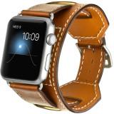 Curea pentru Apple Watch 40mm Piele 4 in 1 iUni Cuff Maro