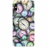 Husa silicon pentru Xiaomi Mi Max 3, Clocks