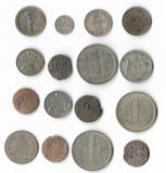 Lot monede argint, perioada 1632-1966, Europa