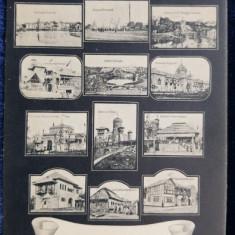 Salutari din Expositiunea Generala Romana 1906 din BUCURESCI - CP ILUSTRATA