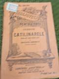 CICERONE CATILINARELE BIBLIOTECA PENTRU TOTI   NR 803-804