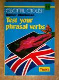 Daniel Blackman - Test your phrasal verbs {Essential English 19}