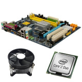 Kit Placa de Baza Refurbished GIGABYTE G31M-S2L, Core 2 Duo E6550, Cooler