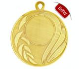 Medalie 5 cm diametru Auriu