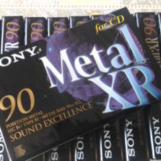 Casete audio sigilate Sony metal XR 90