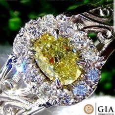 Inel din aur 18 kt cu diamant briliant