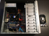 PC Intel I5-2400, 4G RAM, Gigabyte GA-H61M-S2P, HDD 500G, 500W, caseATX, DVD-RW, Intel Core i5, 4 GB, 500-999 GB