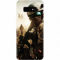 Husa silicon pentru Samsung Galaxy S10 Lite, Battlefield