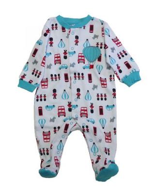 Salopeta / Pijama bebe cu desene Z69 foto