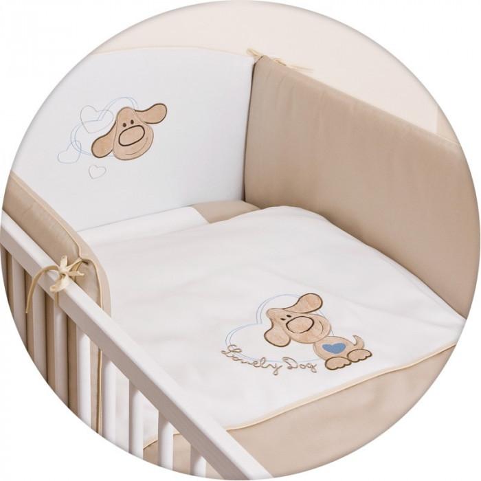 Lenjerie de pat cu 3 elemente CEBA BABY Puppy 100 x 135 cm