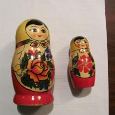 CY - Matrioska 2 bucati / anii '80 / URSS