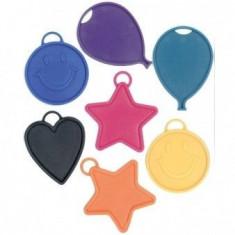 Contragreutate baloane cu heliu diverse forme 15g