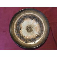 Arta si design  - Farfurie din ceramica cu marcaj Lava Ceramics Iceland !