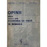 Opinii despre tranzitia spre economia de piata in Romania