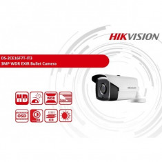 Camera supraveghere exterior 3 MP CMOS IR 40m Hikvision DS-2CE16F7T-IT3