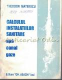 Calculul Instalatiilor Sanitare - Theodor Mateescu