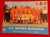 Foto echipa fotbal - BAYERN MUNCHEN (sezonul 1988/1989)