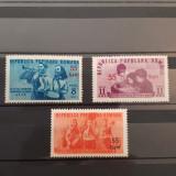 PIONIERI-SUPRATIPAR 1952-SERIA NESTAMPILATA
