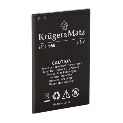 Baterie originala telefon Kruger & Matz Flow 4/4S, 2100 mAh foto