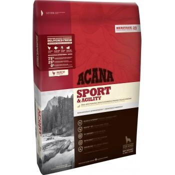 Acana Heritage Sport & Agility 17 kg + recompense Tail Swingers 100 g