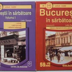 Lelia Zamani - Bucureștii în sărbătoare (colinde, obiceiuri, datini...) (2 vol.)