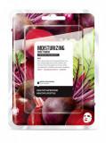 Masca faciala coreeana hidratanta de tip servetel cu sfecla rosie, Farm Skin, 1...