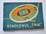 Program vechi Fotbal: Poli Timisoara, 1 Mai 1963, Inaugurarea Stadionului