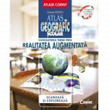 Carte AtIas Geografic Scolar, Cunoastea Terrei prin Realitatea Augumentata, Corint