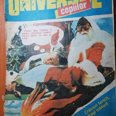 Revista universul copiilor nr.47-48/ 13 decembrie  1990  - numar dublu