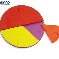Set didactic pentru invatarea fractiilor Miniland