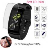 Folie protectie Hydrogel, TPU Silicon, Samsung Galaxy Watch Gear Fit 2 Pro, Bulk