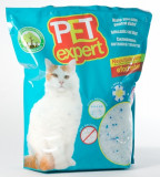 Cumpara ieftin Nisip litiera pisici, Pet Expert, Silicat, 7.6 L